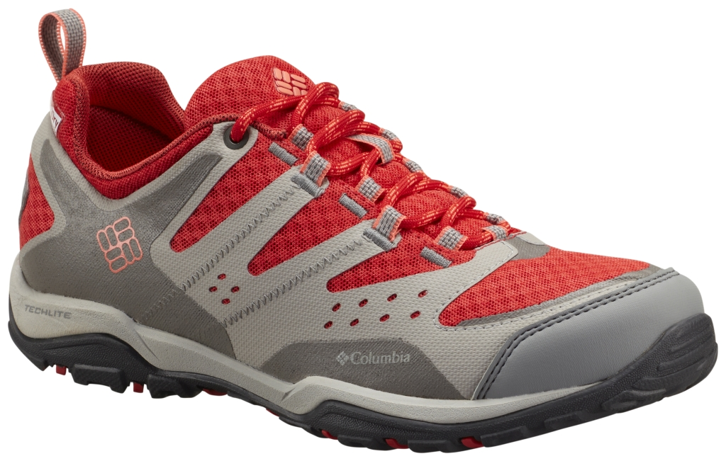 Columbia Peakfreak Xcrsn Xcel Outdry Poppy Red, Coral Glow-30