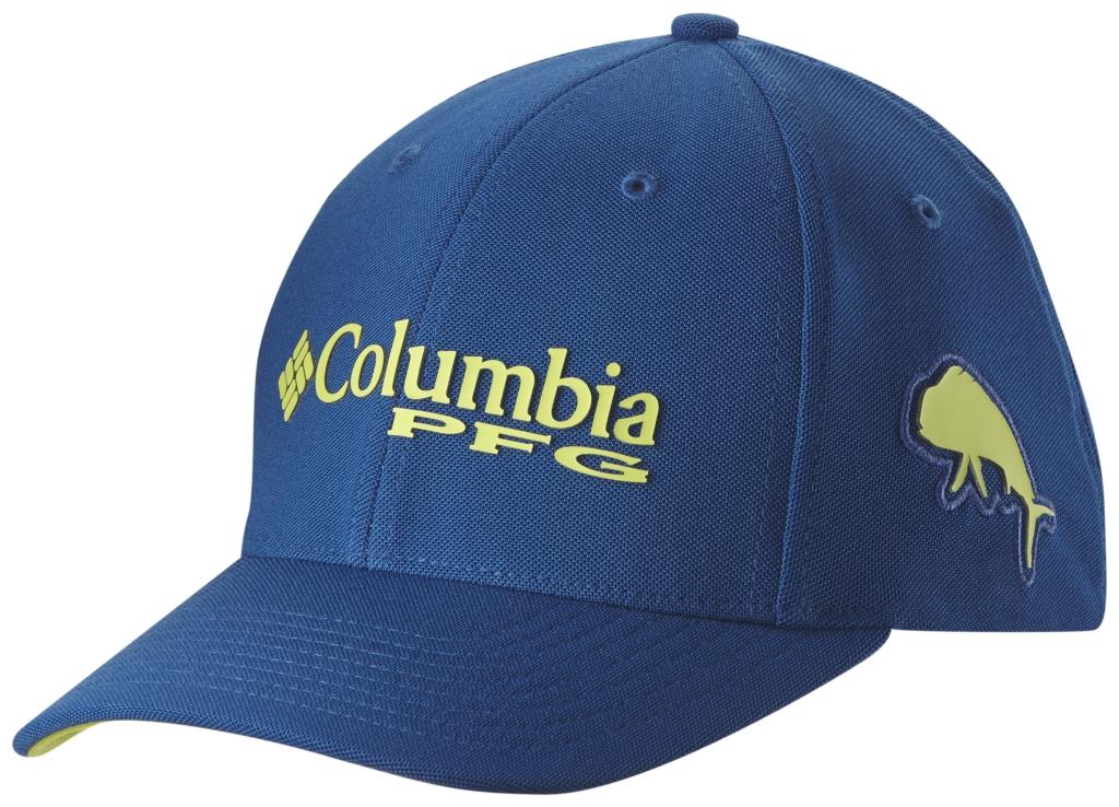 Columbia Pfg Mesh Pique Ballcap Marine Blue, Dorado-30