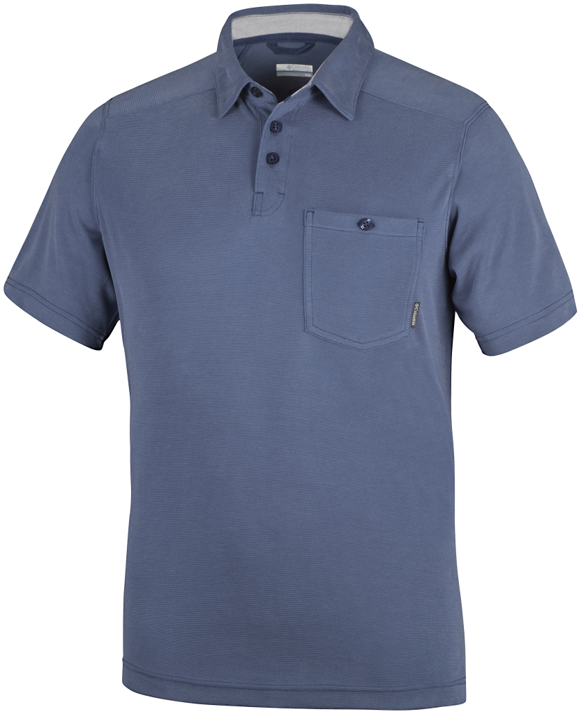 Columbia Sun Ridge II Novelty Polo Night Tide-30