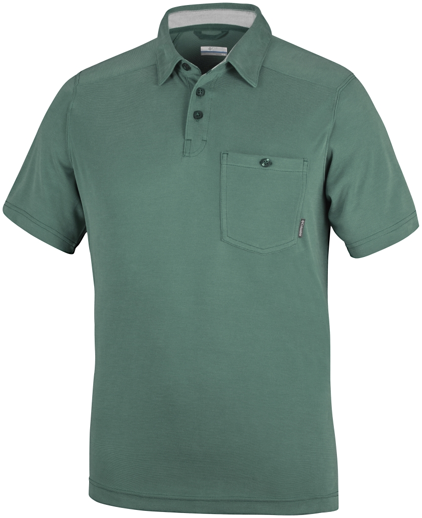 Columbia Sun Ridge II Novelty Polo Pine Green-30