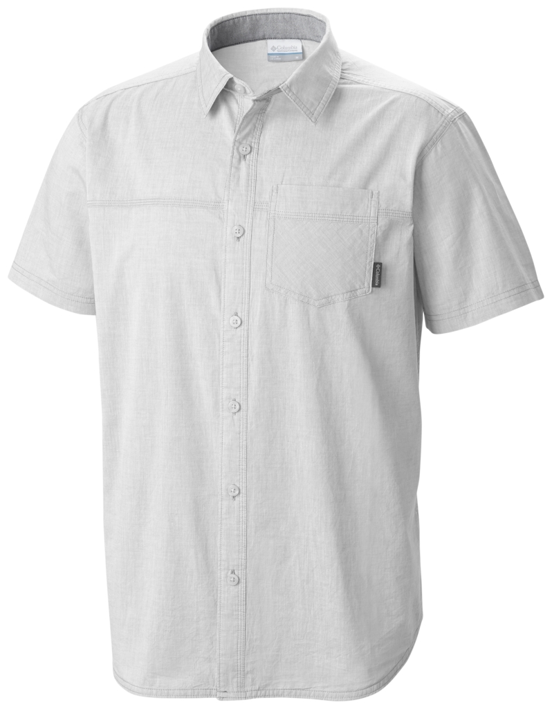 Columbia Campside Crest Short Sleeve Shirt White-30