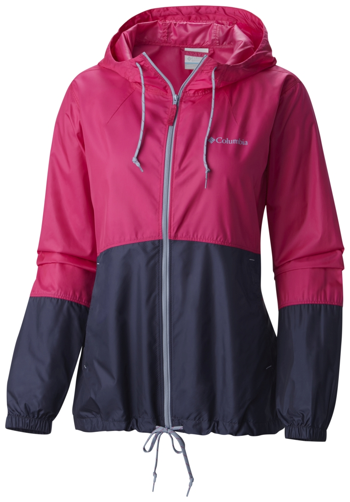 Columbia Flash Forward Windbreaker Haute Pink-30