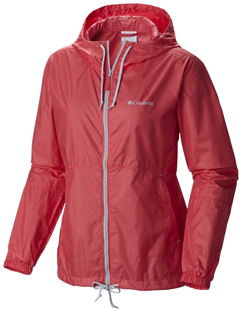 Columbia Flash Forward Windbreaker Bright Geranium-30
