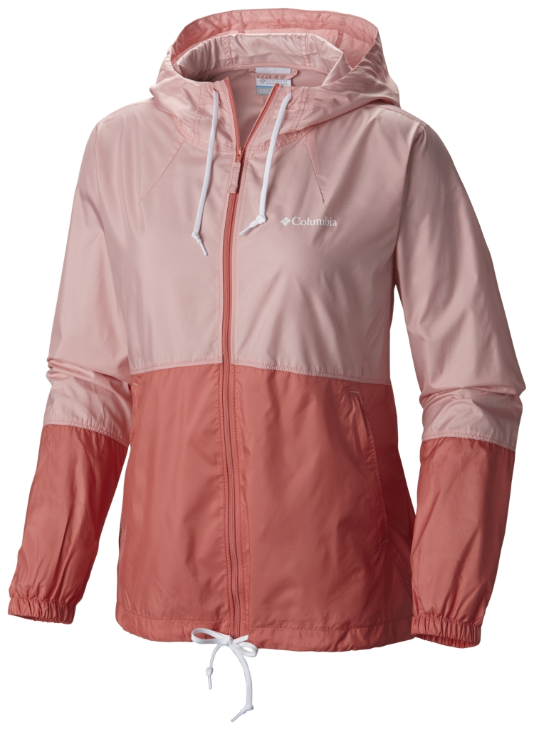 Columbia Flash Forward Windbreaker Rosewater-30