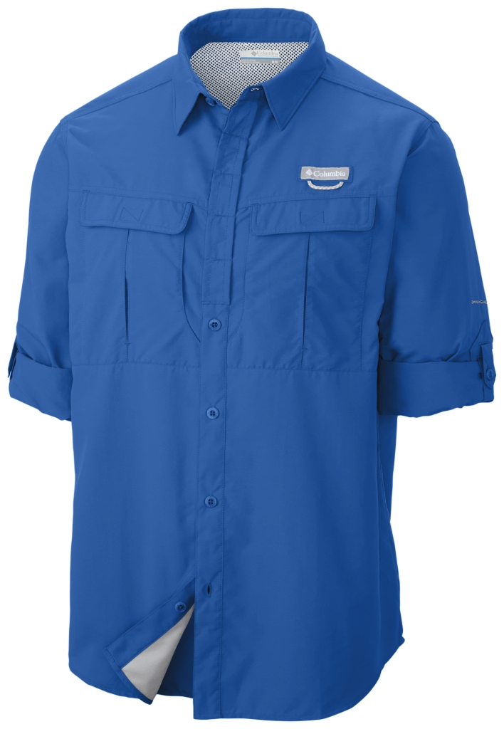 Columbia Cascades Explorer Long Sleeve Shirt Super Blue-30