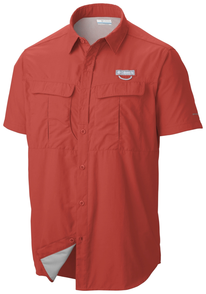 Columbia Cascades Explorer Short Sleeve Shirt Super Sonic-30