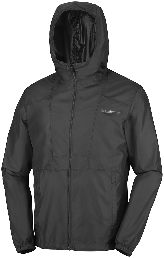 Columbia M Flashback Windbreaker Black, Black-30