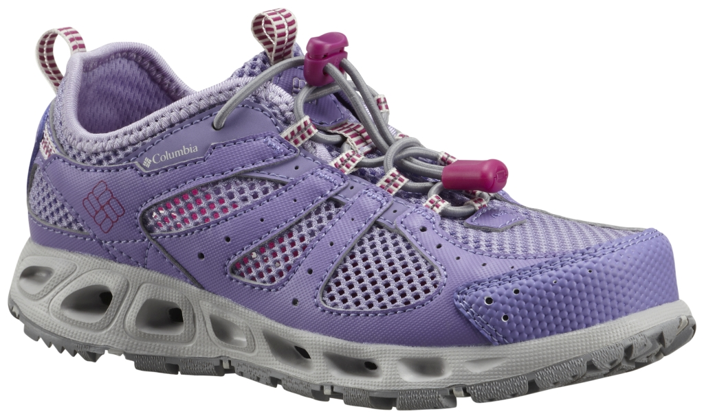 Columbia Youth Liquifly II Paisly Purple, Whitened Violet-30