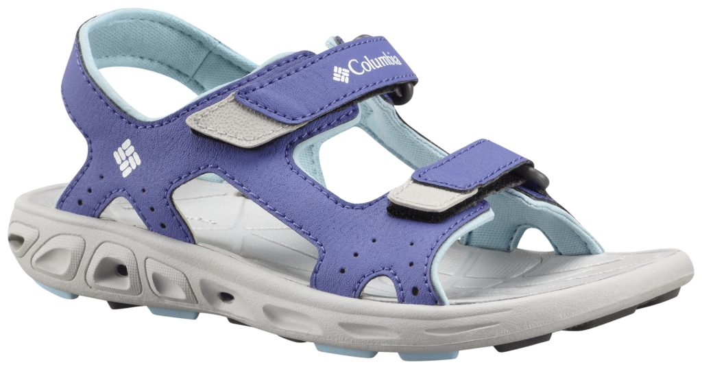 Columbia Youth Techsun Vent Purple Lotus, Sky Blue-30