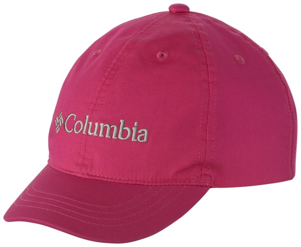 Columbia Youth Adjustable Ball Cap Haute Pink-30