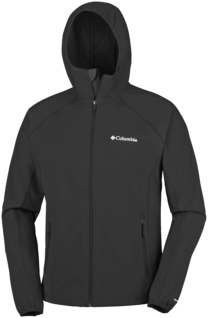 Columbia Whisper Creek Softshell Black-30