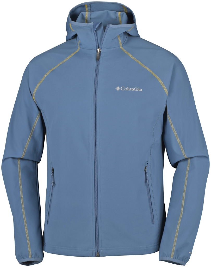 Columbia Whisper Creek Softshell Steel-30