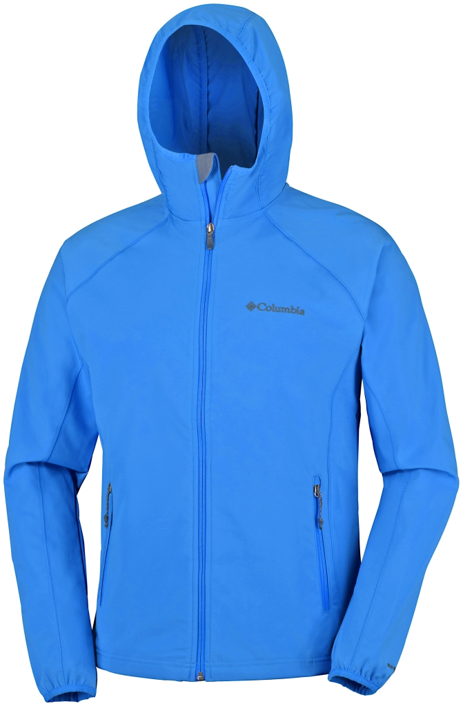 Columbia Whisper Creek Softshell Hyper Blue-30