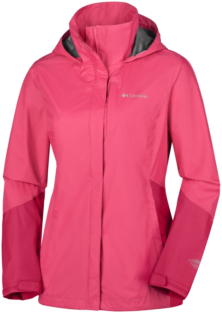 Columbia Arcadia Tech Jacket Bright Geranium, Ruby Red-30
