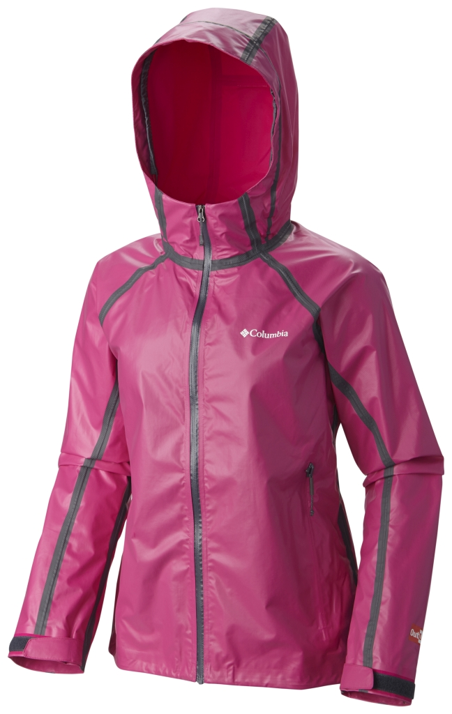Columbia Outdry Ex Gold Tech Shell Haute Pink-30