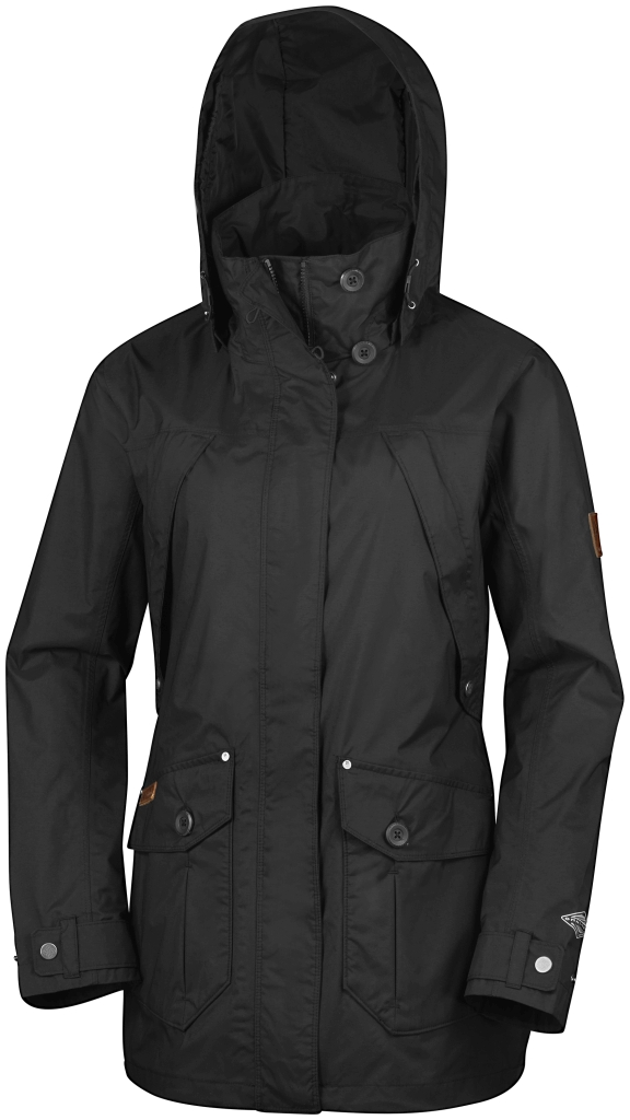 Columbia High PaSS Shell Jacket Black-30