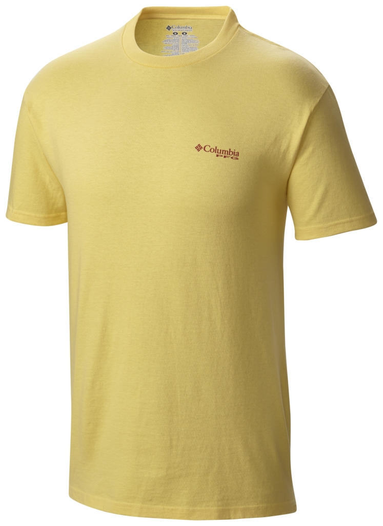 Columbia Pfg Artistic Offshore SS Tee Sunlit-30
