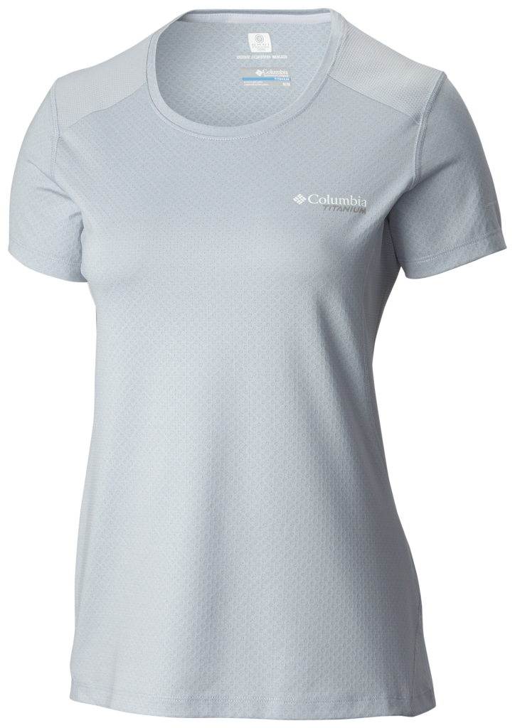 Columbia Titan Ice Short Sleeve Shirt Cirrus Grey Heather-30