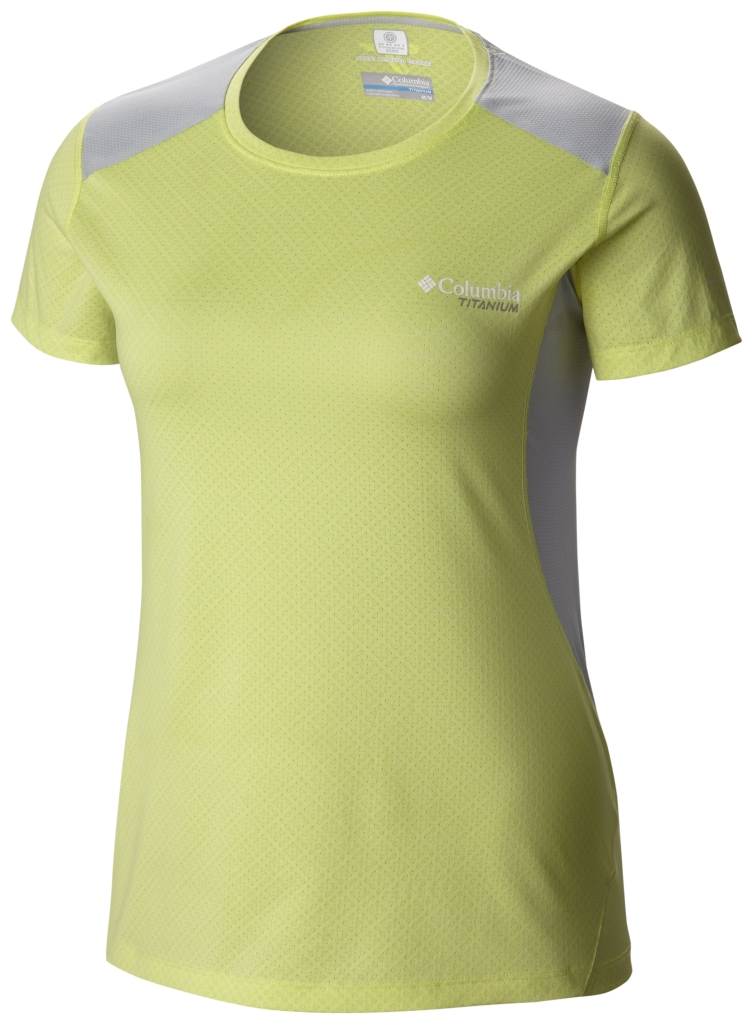 Columbia Titan Ice Short Sleeve Shirt Neon Light-30