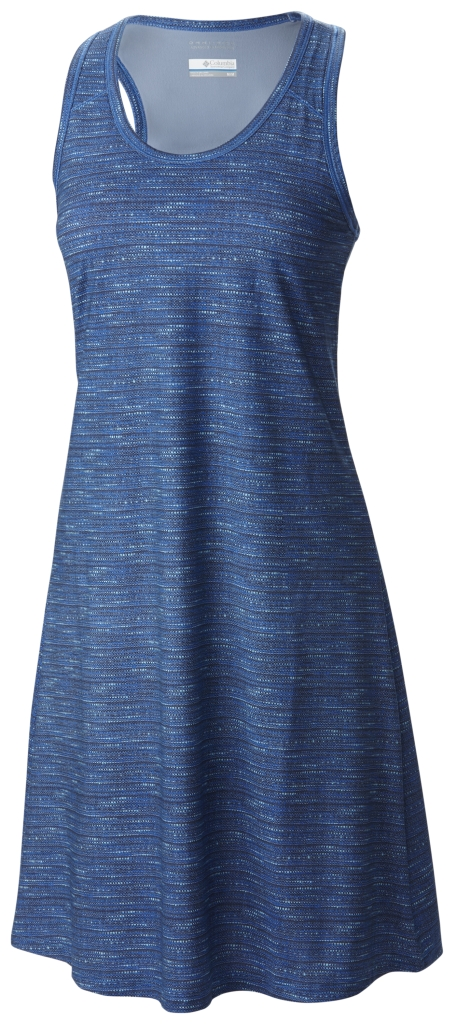 Columbia Saturday Trail II Knit Dress Stormy Blue Print-30
