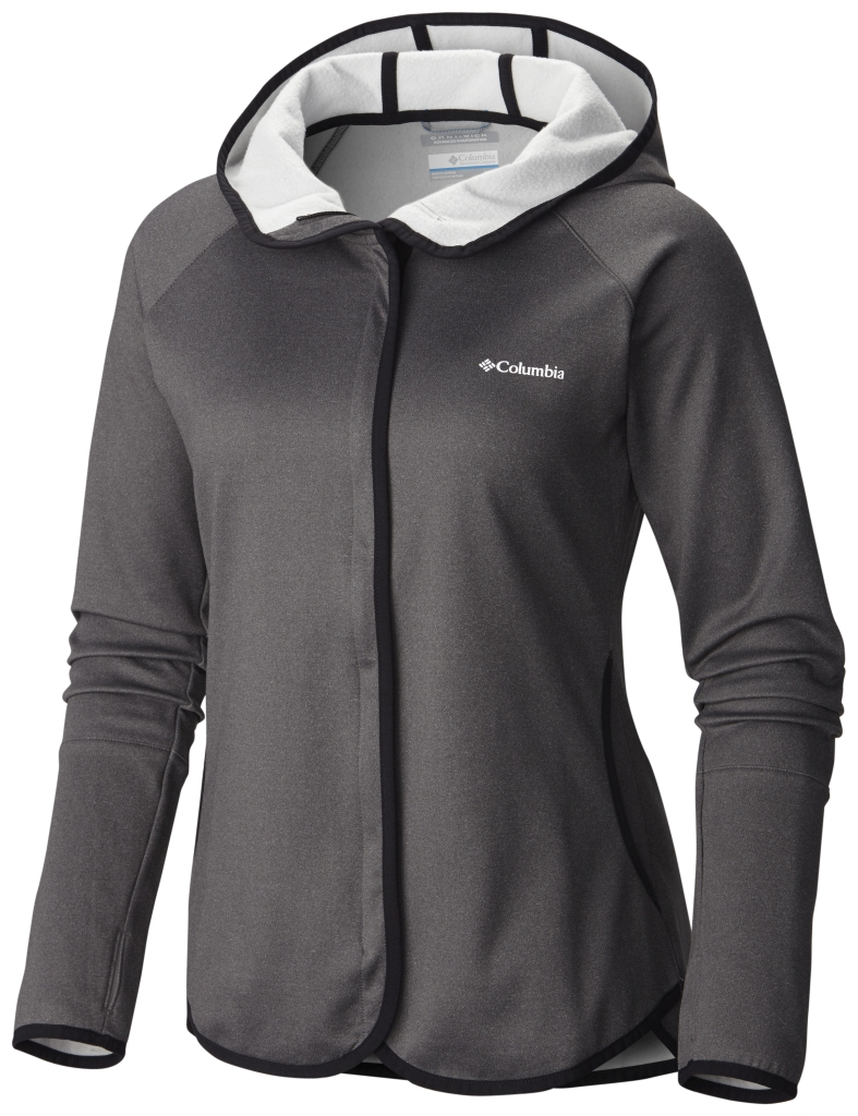 Columbia CompaSS Point Hoodie Black Heather-30