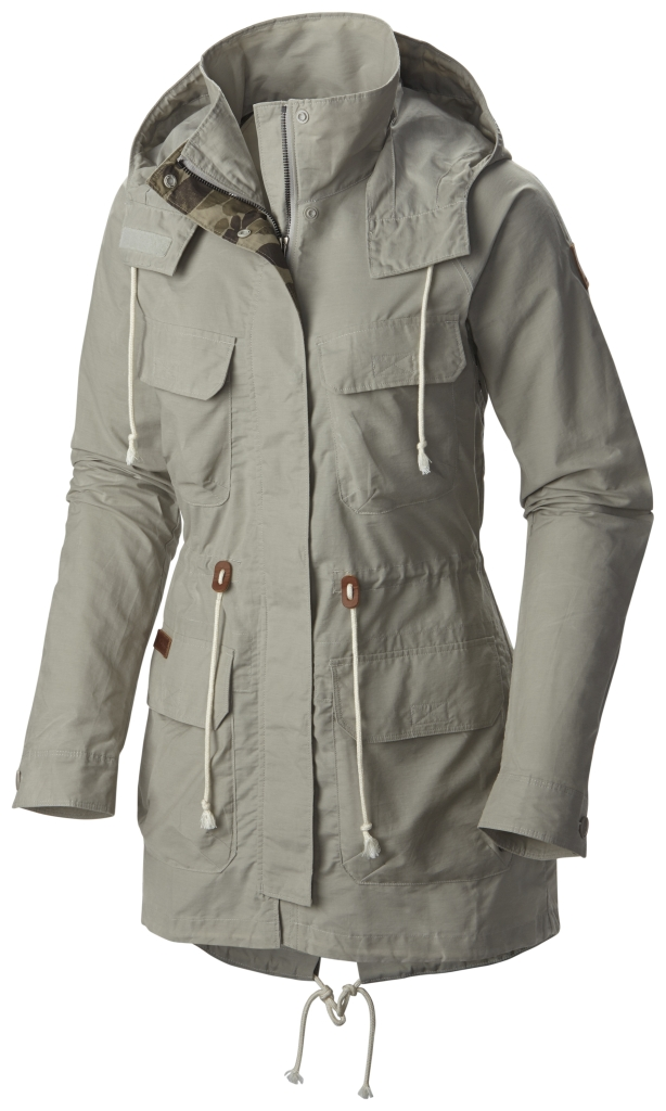 Columbia Tillicum Bridge Long Jacket Flint Grey-30
