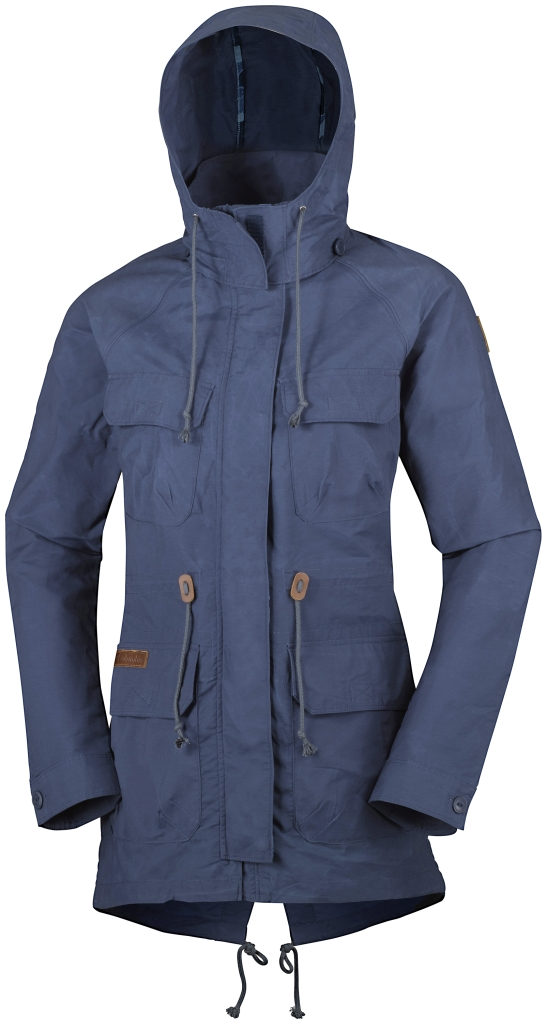 Columbia Tillicum Bridge Long Jacket Nocturnal-30