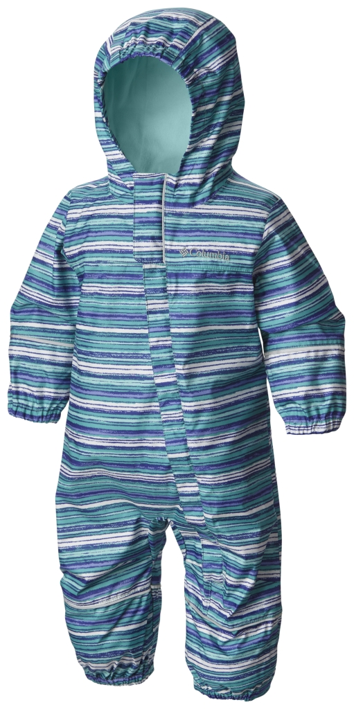 Columbia Snuggly Bunny Rain Suit Ocean Water Stripe-30