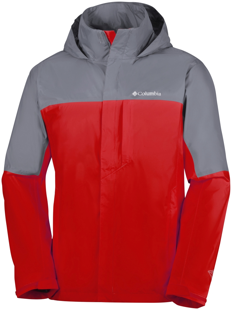 Columbia Watertight Tech Jacket Grey Ash, Super Sonic-30
