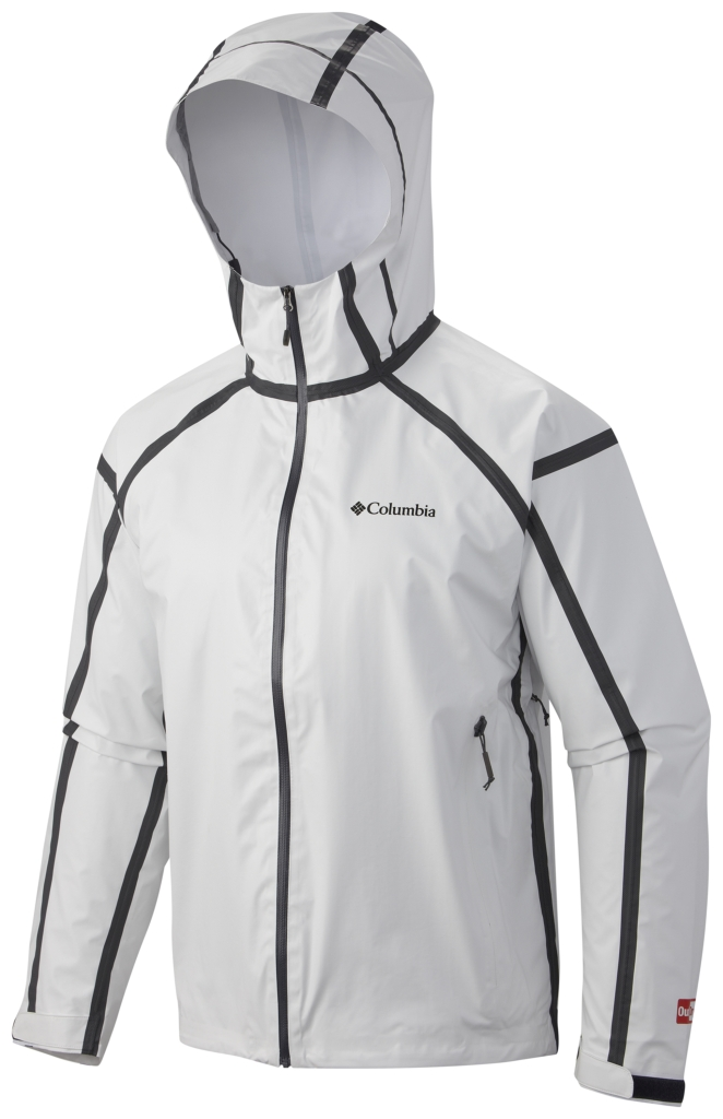 Columbia Outdry Ex Gold Tech Shell White-30