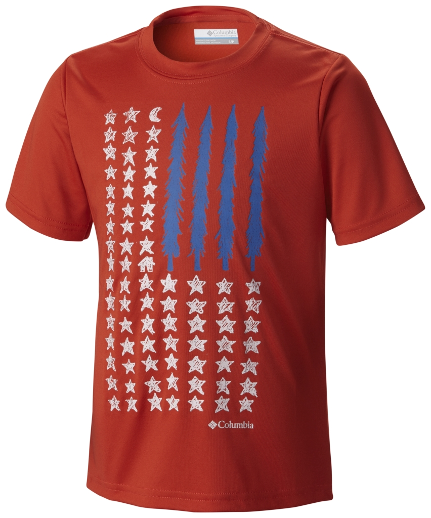 Columbia Camp Americana Graphic Tee Super Sonic-30