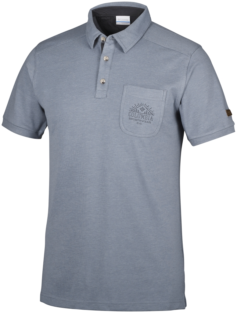 Columbia Evergreen PaSS Polo Grey Ash-30