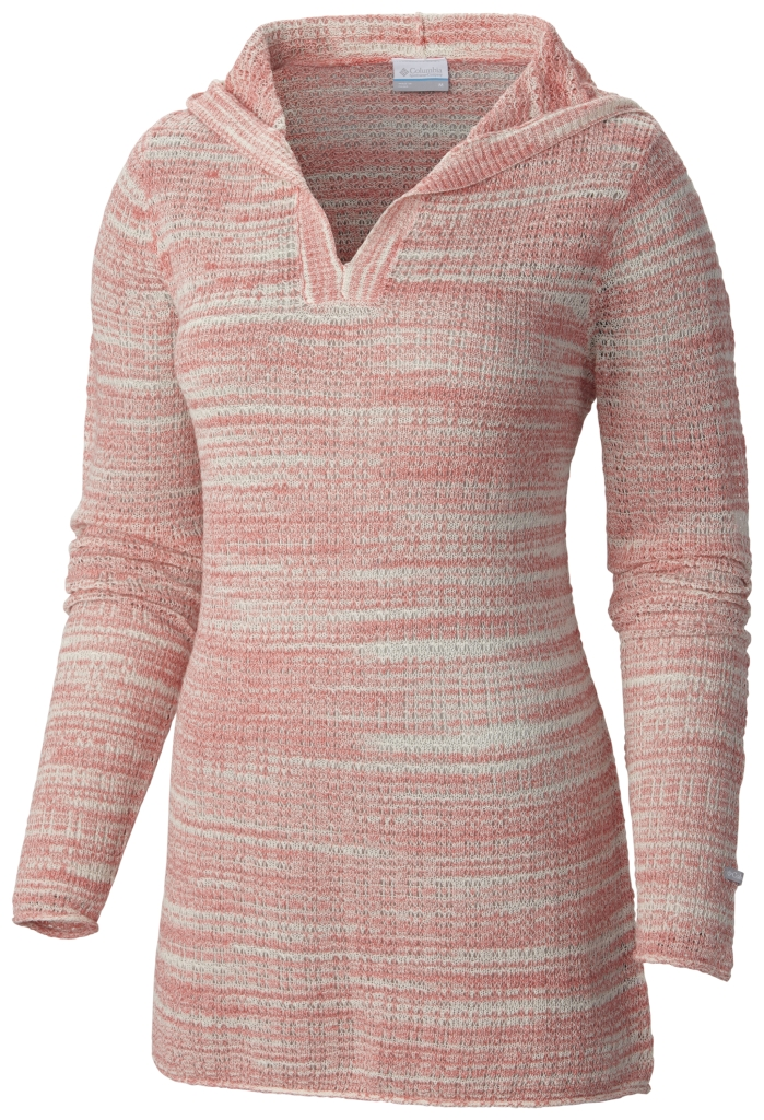 Columbia Peaceful Feelin Sweater Coral Bloom-30