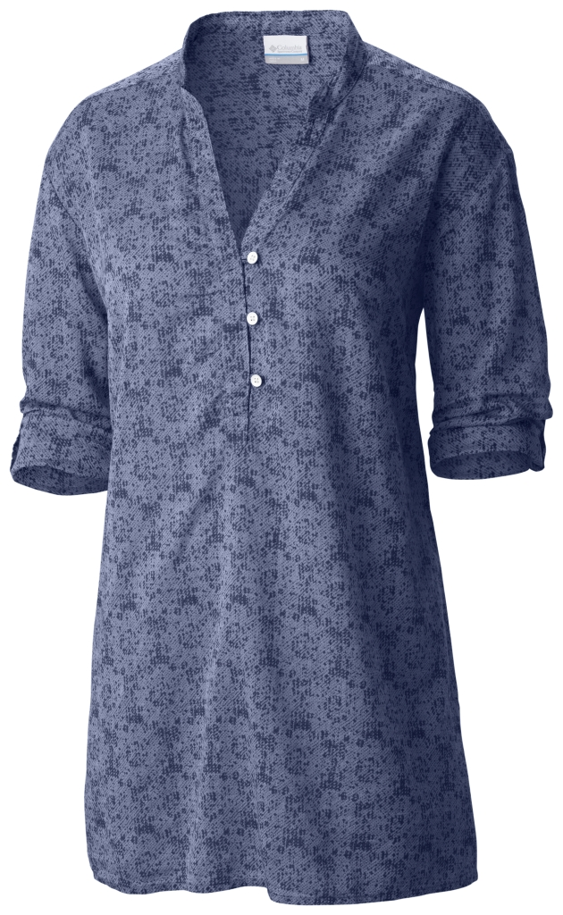 Columbia Early Tide Tunic Bluebell Floral Print-30