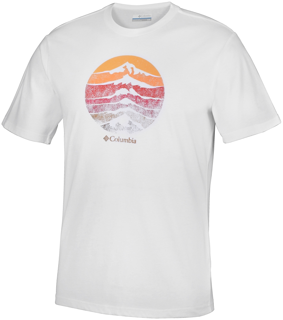 Columbia Csc Mountain Shield Tee White-30