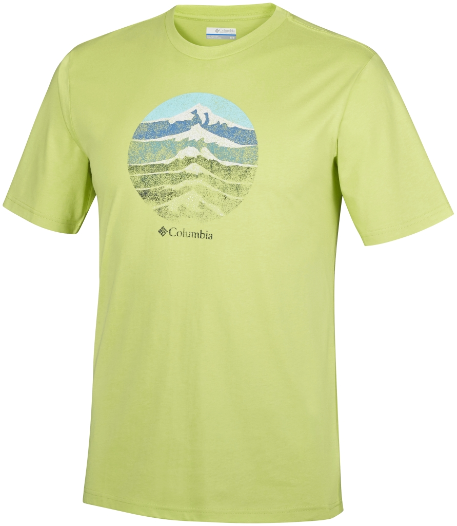 Columbia Csc Mountain Shield Tee Napa Green-30