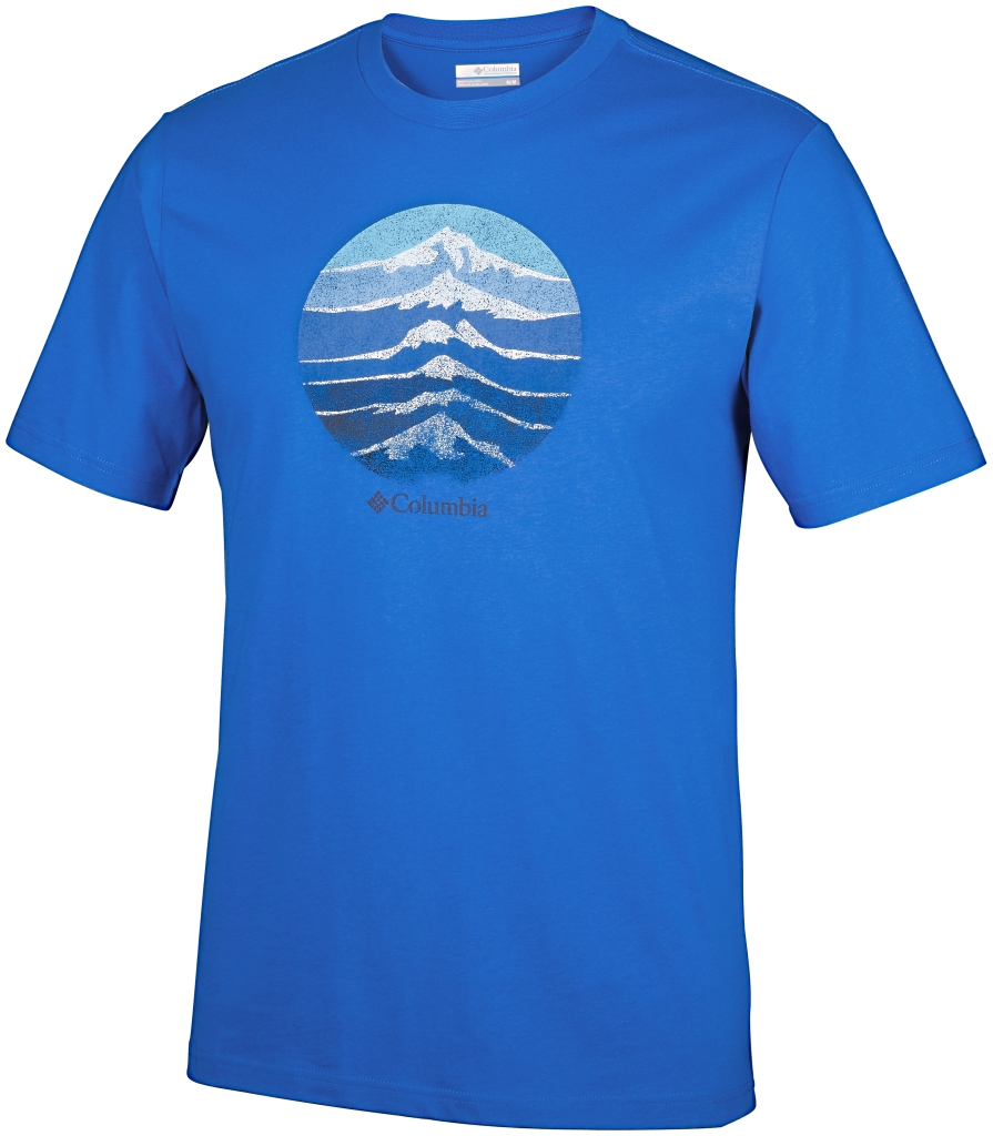 Columbia Csc Mountain Shield Tee Super Blue-30