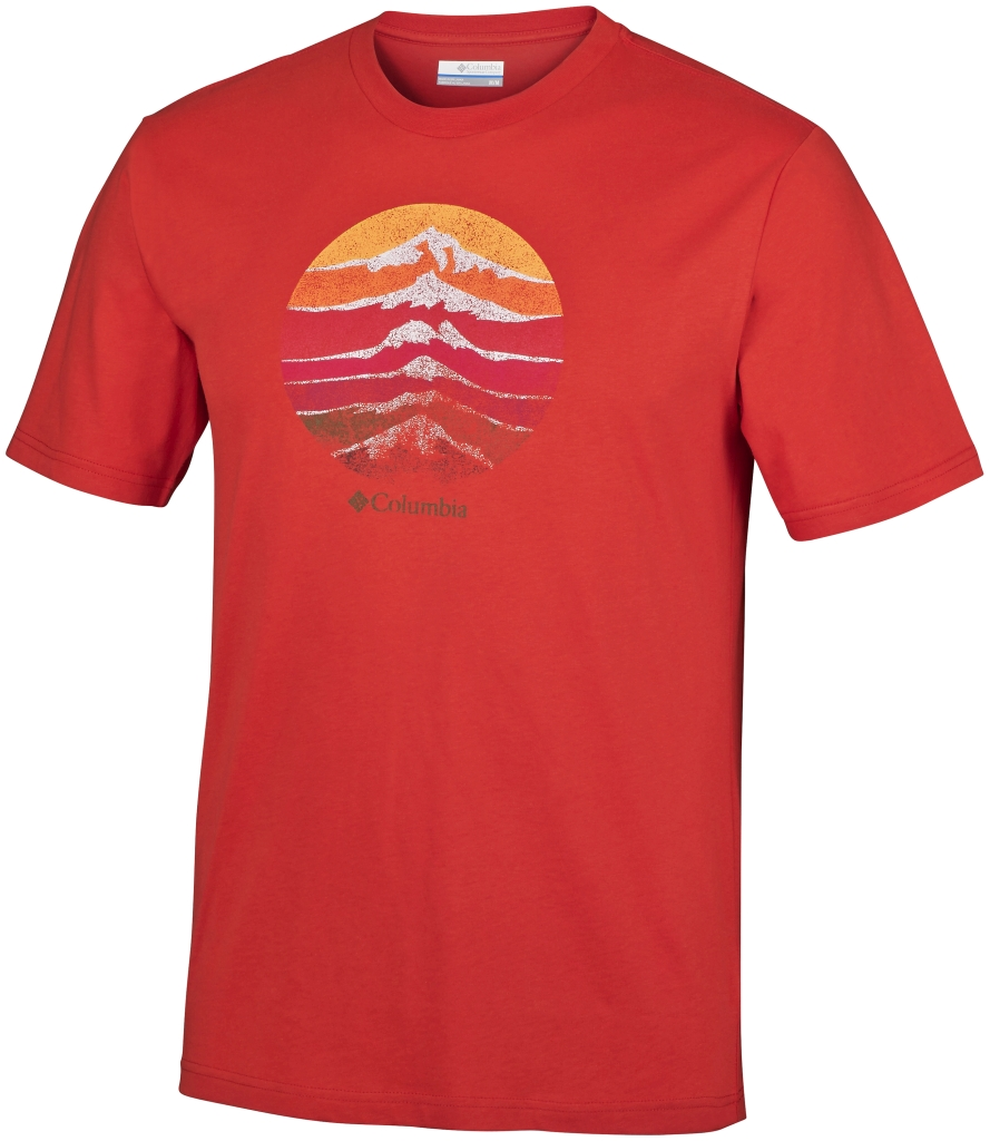 Columbia Csc Mountain Shield Tee Super Sonic-30