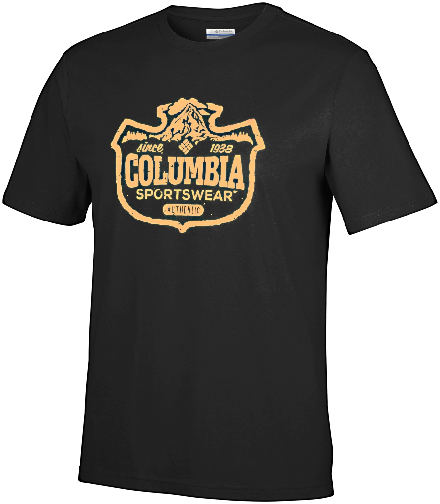 Columbia Csc Mountain Sunset Tee Black-30