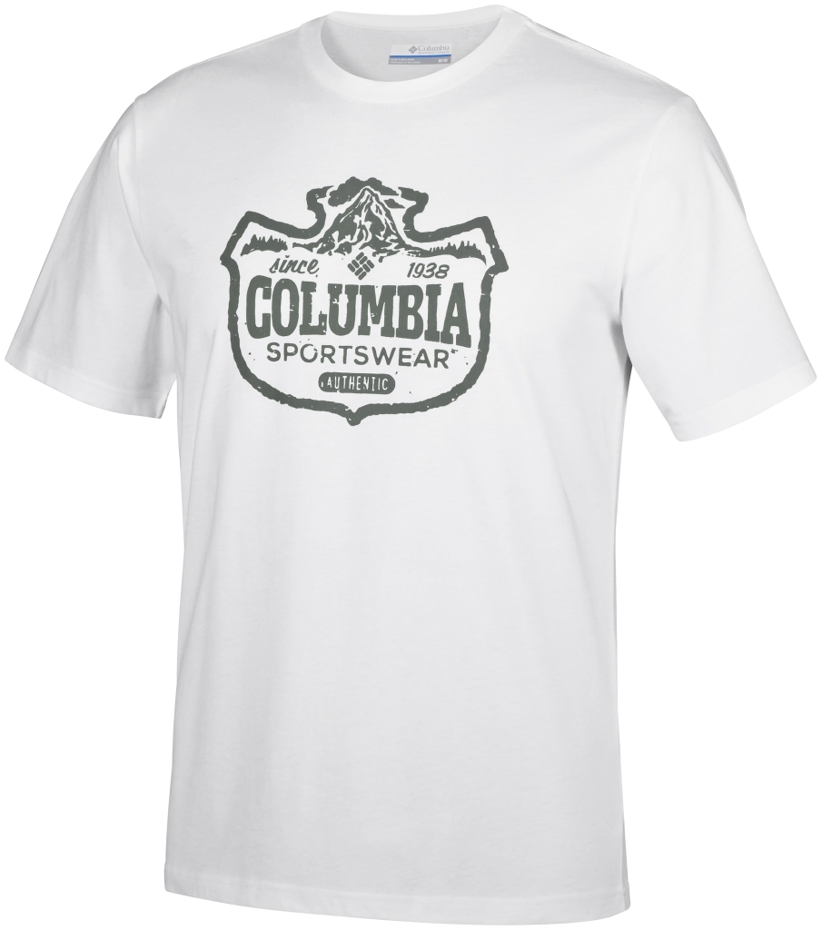 Columbia Csc Mountain Sunset Tee White-30