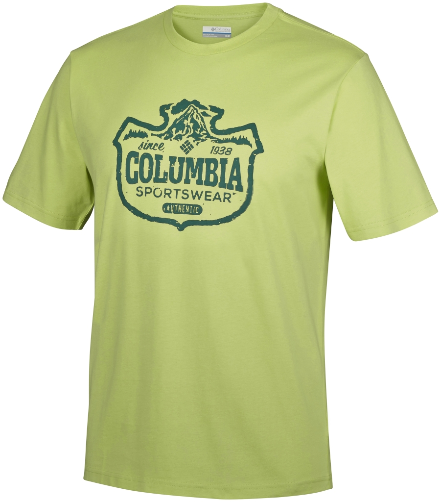 Columbia Csc Mountain Sunset Tee Napa Green-30