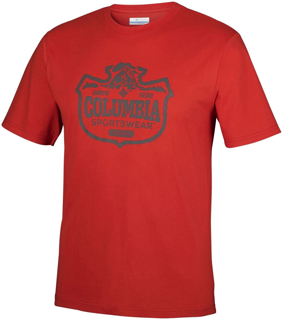 Columbia Csc Mountain Sunset Tee Super Sonic-30