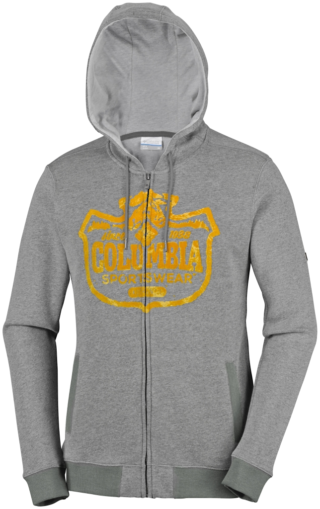 Columbia Csc Mountain Shield Full Zip Hoodie Charcoal Heather-30
