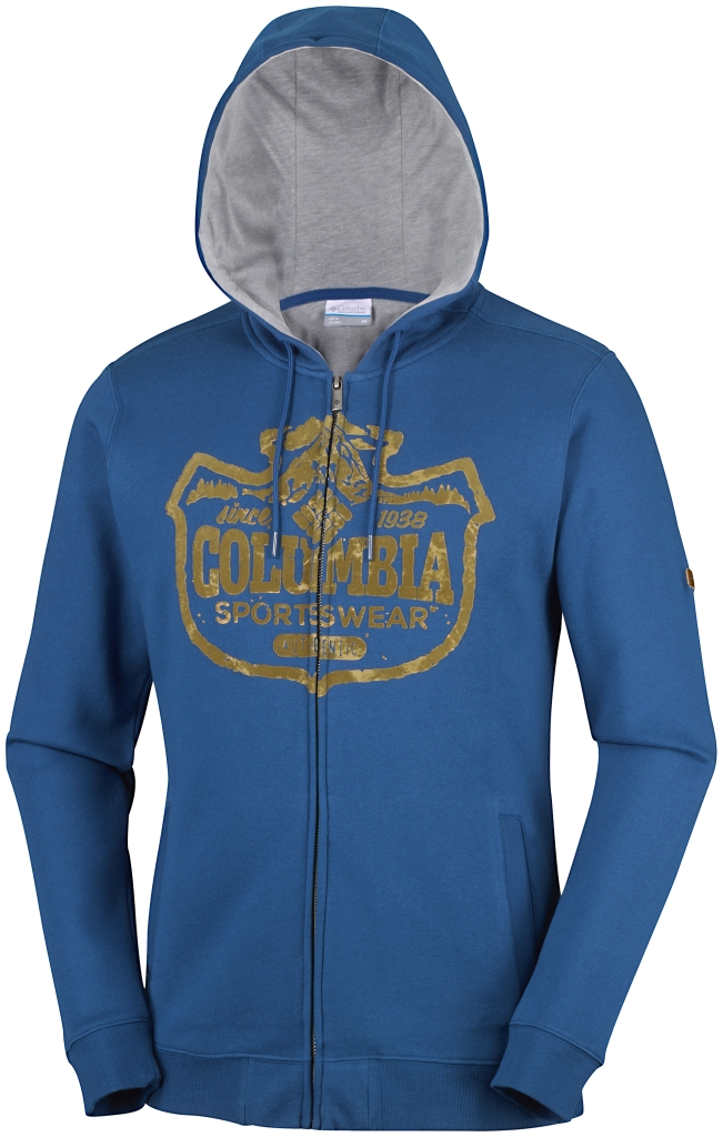 Columbia Csc Mountain Shield Full Zip Hoodie Marine Blue-30