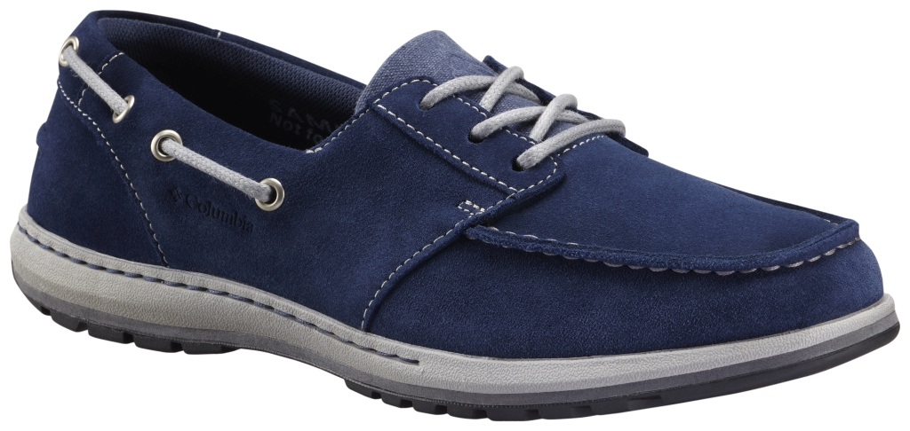 Columbia Davenport Boat Collegiate Navy, Light Grey-30