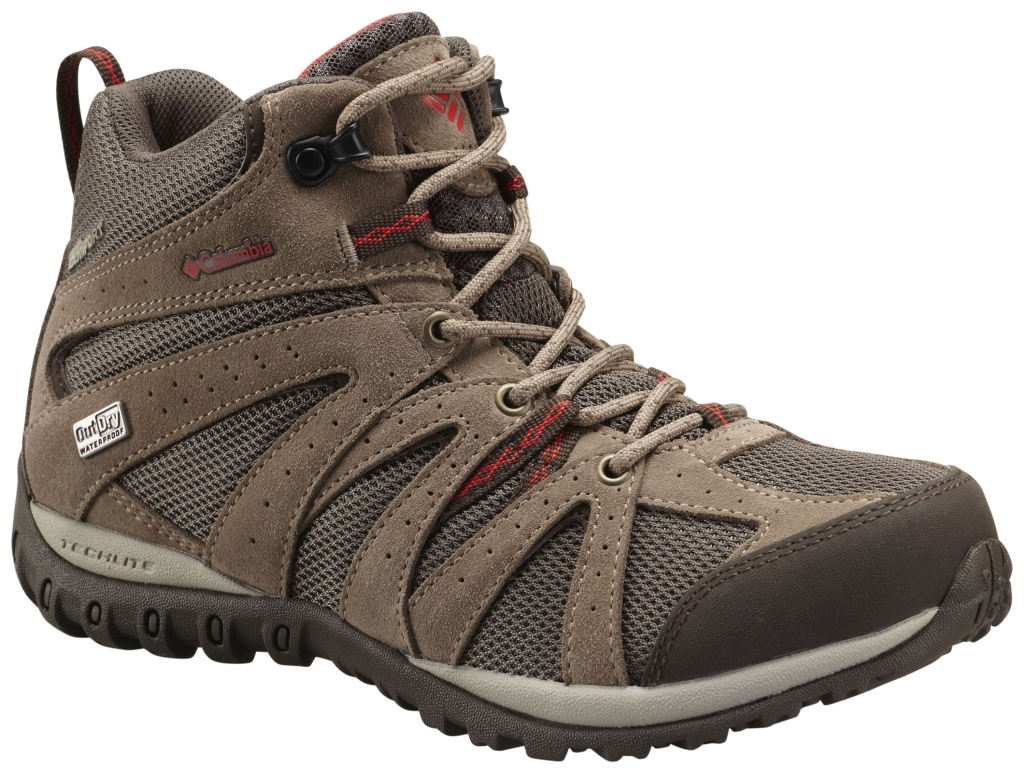 Columbia Grand Canyon Mid Outdry Mud, Poppy Red-30