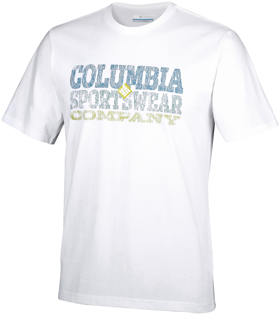 Columbia Csc Block Tee White-30