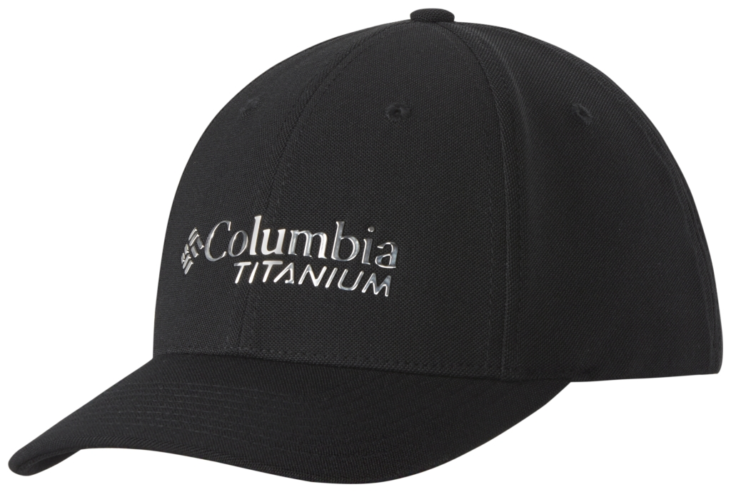 Columbia Titanium Ball Cap Black-30