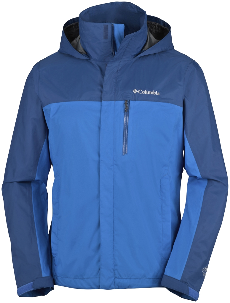 Columbia Pouration Dual Jacket Hyper Blue, Marine Blue-30