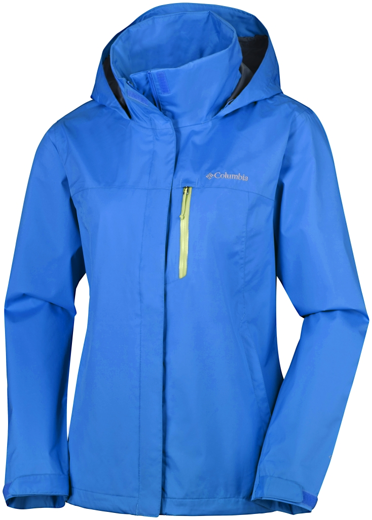 Columbia Pouration Pw Jacket Stormy Blue-30